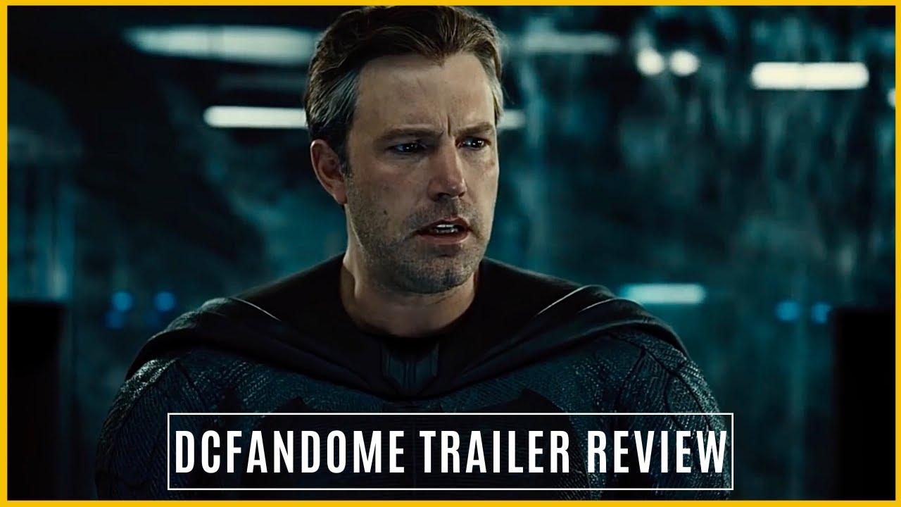 Zack Snyder's Justice League- DCFanDome Trailer Review