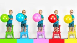 Five little monkeys Kids Song. Mike Alice World