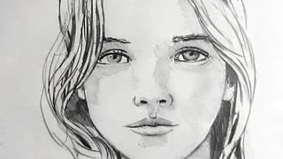 How To Draw A Female Face: Narrated