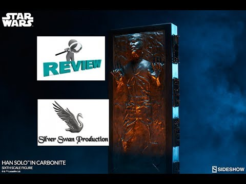 Han Solo in Carbonite sixth scale review from sideshow