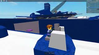 ROBLOX naval battle gameplay