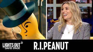 Mourning the Loss of Mr. Peanut (feat. Arielle Vandenberg) - Lights Out with David Spade