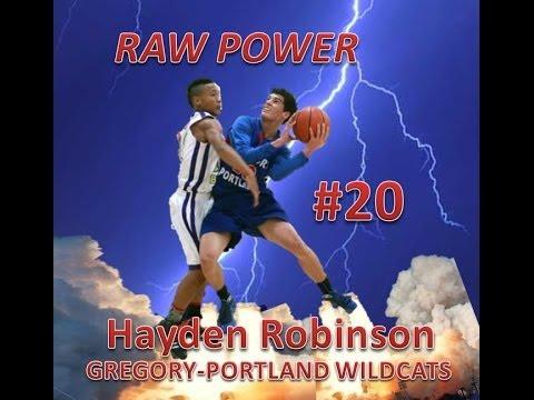 Hayden Robinson Scores 17 pts vs CC Miller 2013-11-25