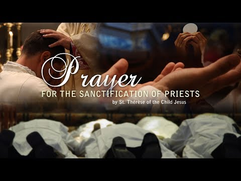 Prayer for the sanctification of priests