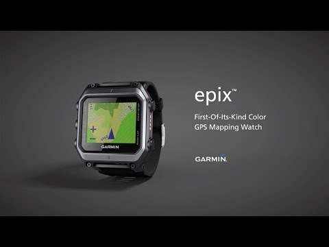Garmin epix™: The Color Map you Wear on Your Wrist