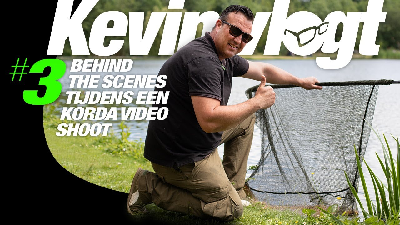 Karpervissen - Kevin Vlogt #3: Behind the scenes tijdens het maken van een Korda video