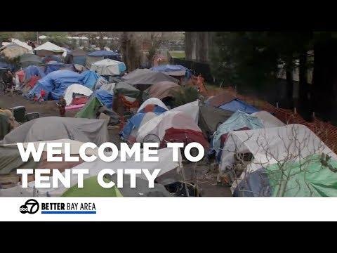Santa Cruz takes steps towards addressing large tent city
