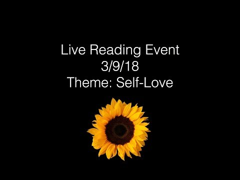 LIVE READING EVENT: SELF-LOVE!