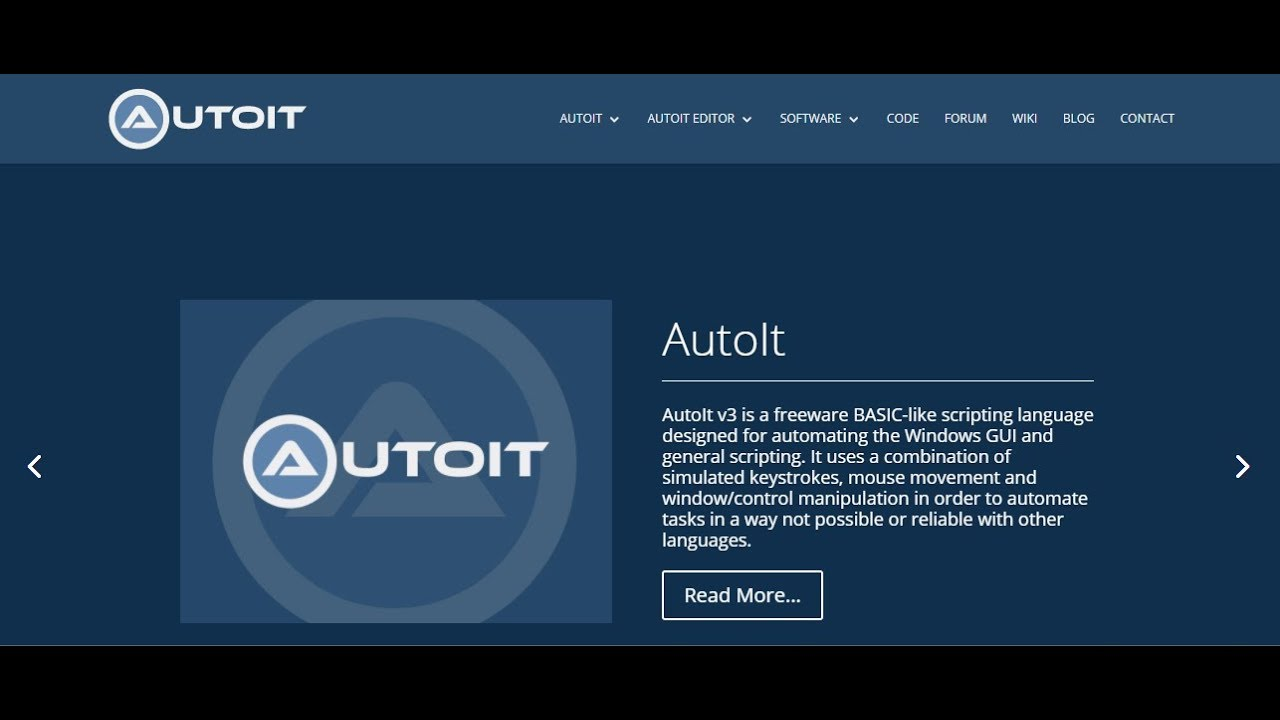 Autoit Tutorial 1 Get Auto It Install Introduction Youtube