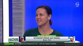 Tennis Channel Live: Rome 2020 Day 6 Recap, Schwartzman Eliminates Nadal
