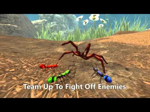 Fire Ant Simulator by Wildfoot - from the Insecto Series. Play for Free!!