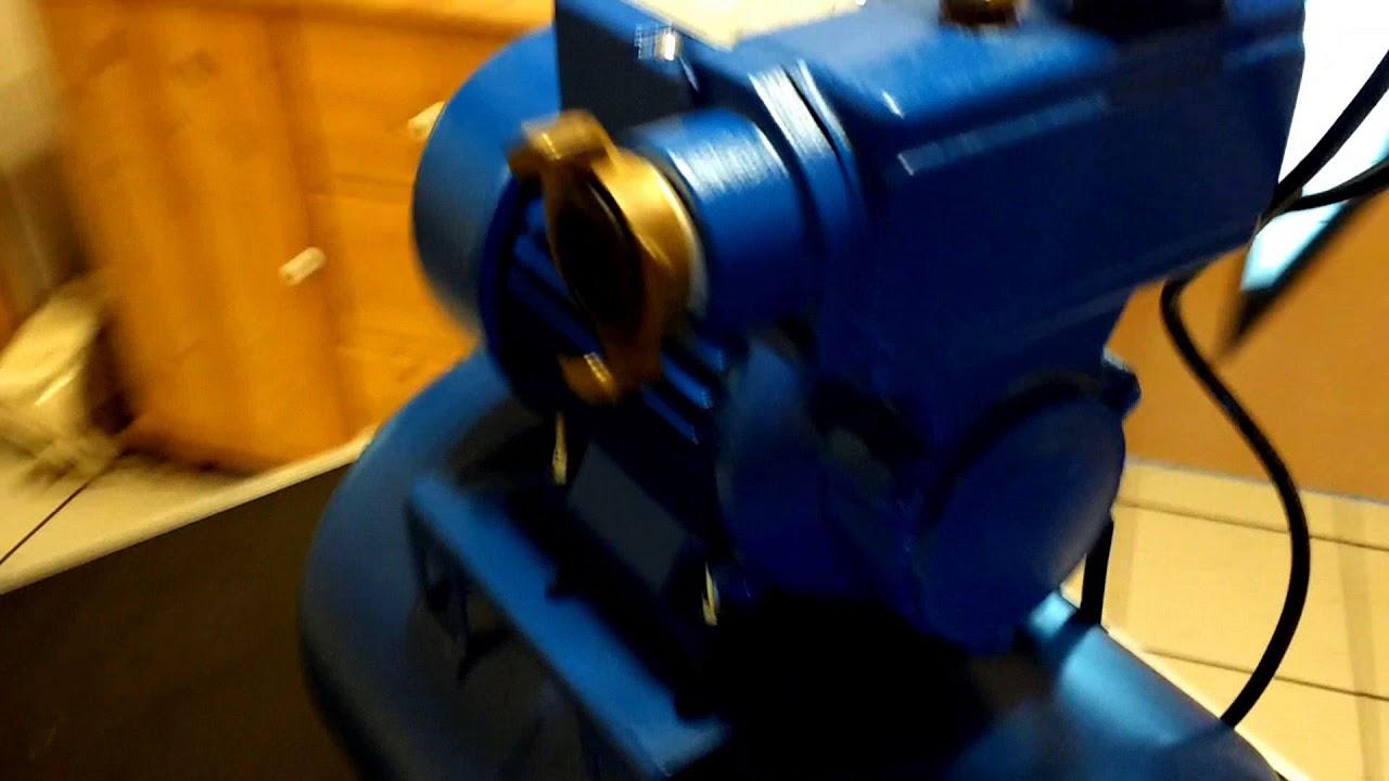 Druckschalter Hauswasserwerk verkabeln - YouTube
