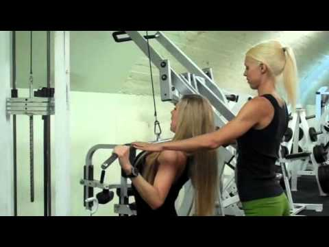 Training Tips w/ Marzia Prince On Lat Pull Down - Brought to you by Supplements.co.nz