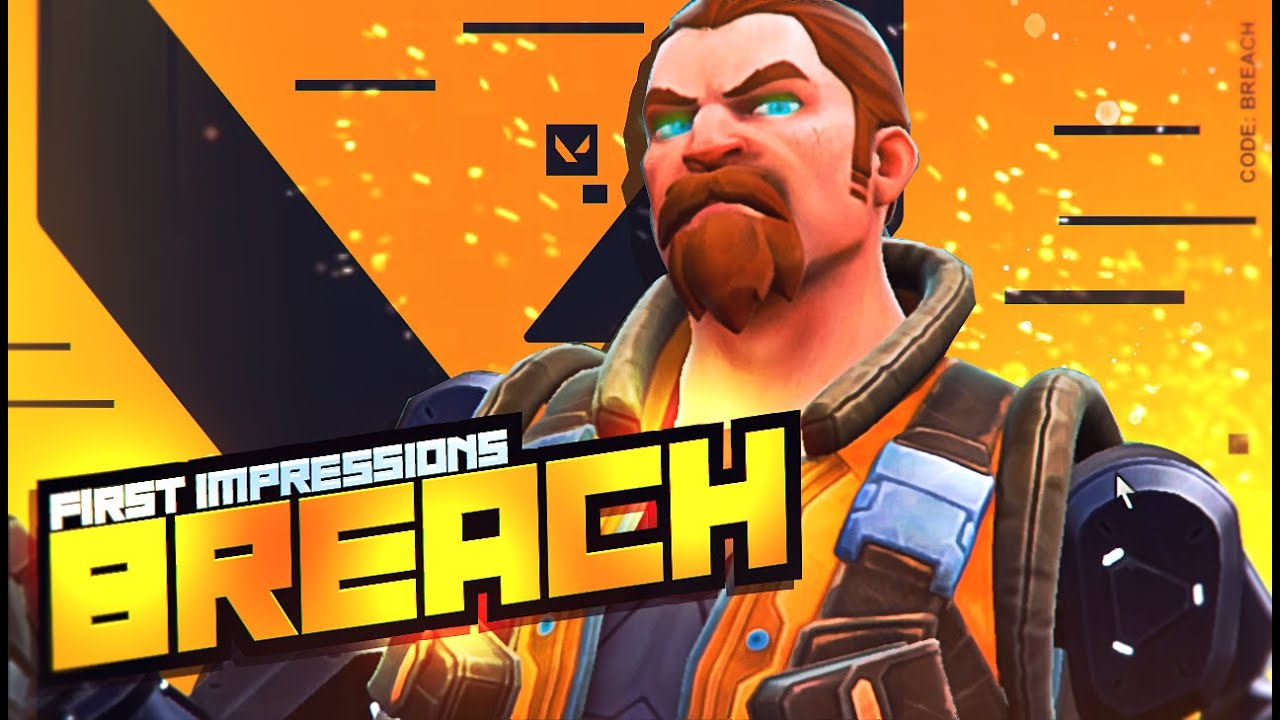 Breach Might Be My FAVORITE Agent (VALORANT FIRST REACTION) - YouTube