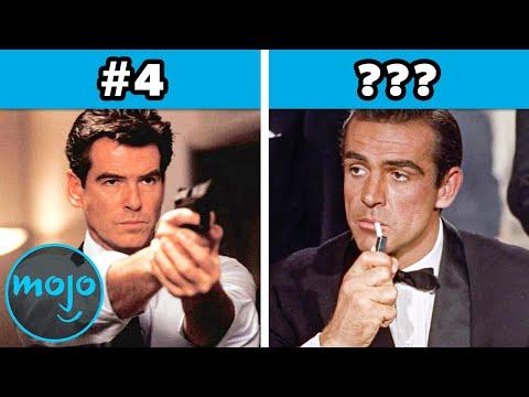 Ranking Every Single James Bond Actor