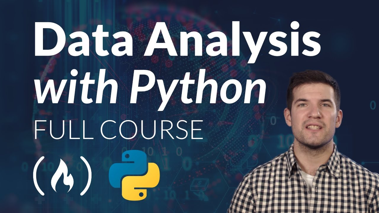 Data Analysis with Python - Full Course for Beginners (Numpy, Pandas, Matplotlib, Seaborn)