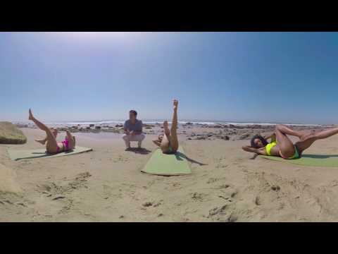 VR Bikini Yoga - Malibu - Lesson 5: Abdominal Strength