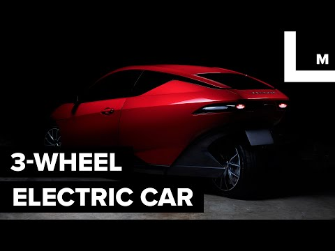 Download Youtube: This electric car has 3 wheels and costs $10,000