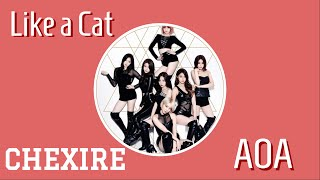 [MKOEnt] AOA - 사뿐사뿐(Like a Cat) {CHEXIRE} DEBUT Collab