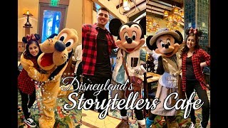 Disneyland's Storytellers cafe character dining Vlog | Nellybee21