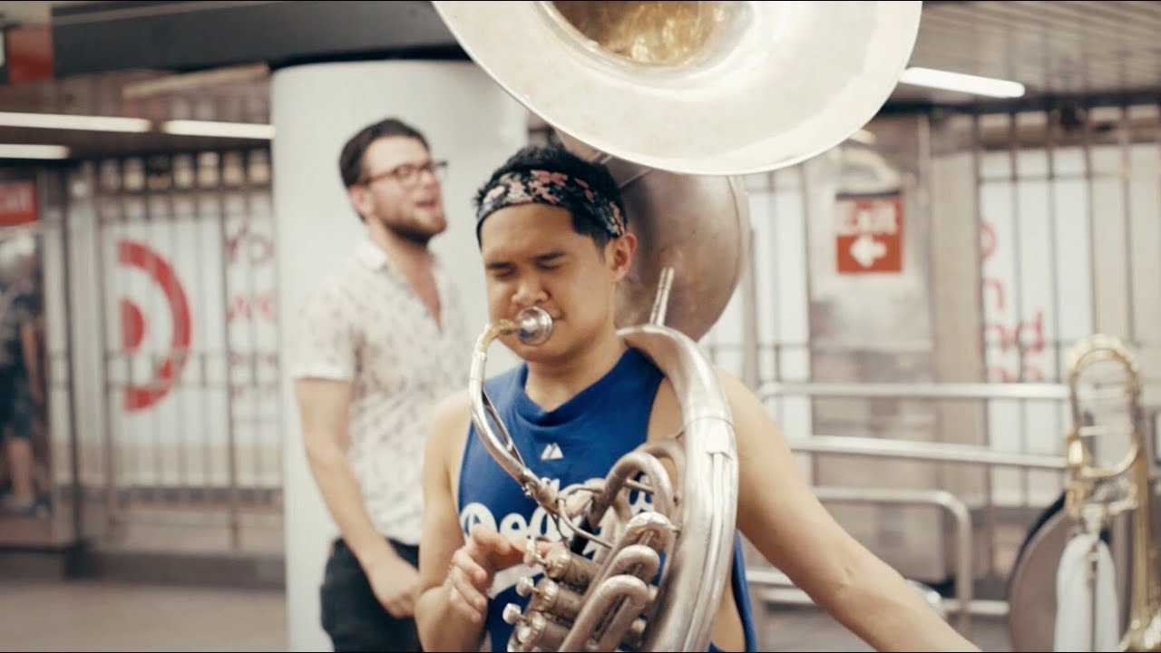 Download Lucky Chops - Stand By Me (Live in the NYC Subway)