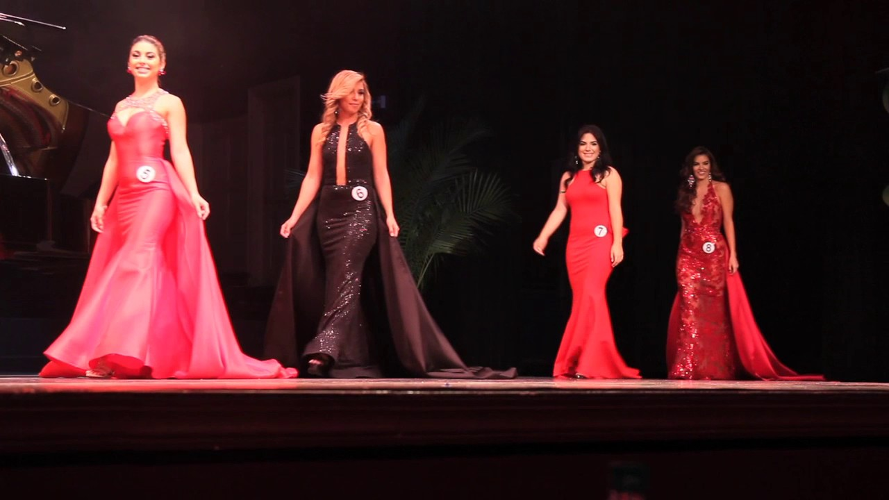 03 Miss Carnival Miami 2017 Evening Gowns - YouTube