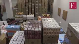 Dražba cigaret a alkoholu zabaveného při zásahu Daňové Kobry vynesla téměř deset milionů korun