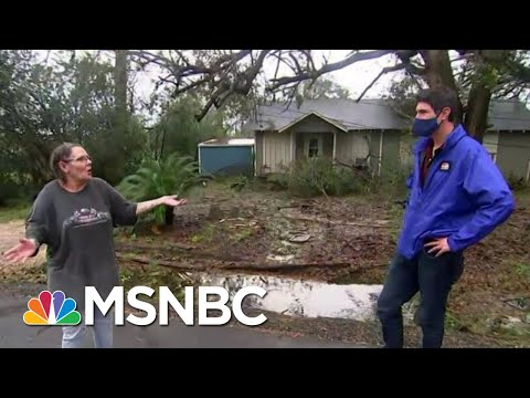 Lake Charles Resident After Hurricane Laura Tore Through Louisiana | MTP Daily | MSNBC