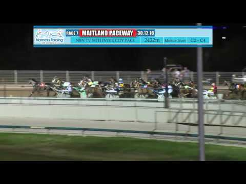MAITLAND - 30/12/2016 - Race 7 - NBN TELEVISION 54TH INTER CITY PACE HEAT FOUR