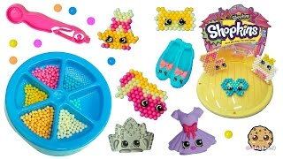 Make Your Own Ballet Collection Shopkins - Beados  Water Beads Craft Playset - Toy Video