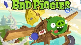 Bad Piggies HD-Walkthrough