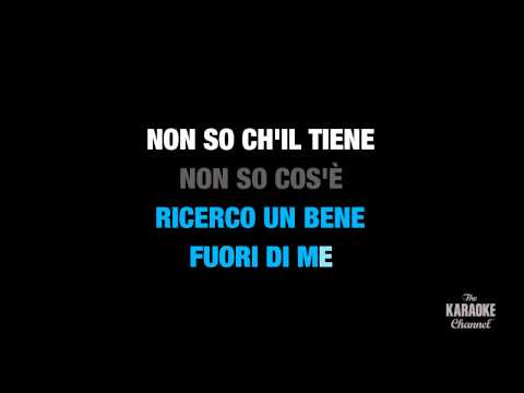 """Voi che sapete che cosa è amor in the Style of """"Traditional"""" karaoke with lyrics (no lead vocal)"""