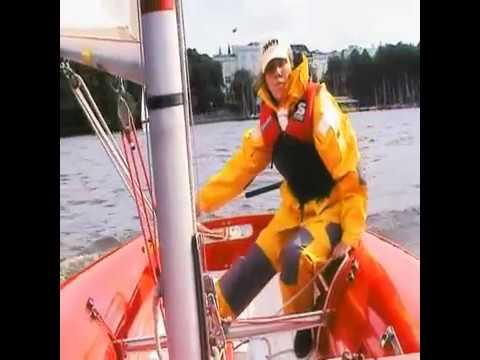 Segeln lernen. Lehrvideo segeln. Die Wende, die Halse, das Kreuzen, der Aufschießer, Boje über Bord