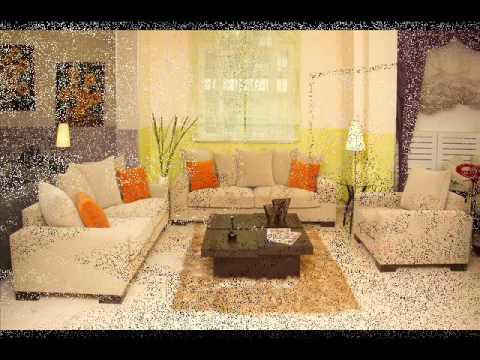 eenvoudige woonkamer decoratie ideeën - YouTube