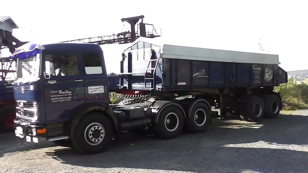 Old mercedes benz lp 2232 truck 6x4 lkw in hd youtube for Old mercedes benz trucks