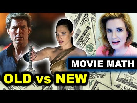 Box Office for The Mummy vs Wonder Woman, 2nd Weekend Drop 43%