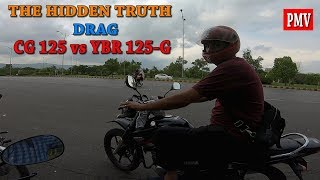 DRAG RACE HONDA CG 125 VS YAMAHA YBR 125G CHALLANGE ACCEPTED VERDICT