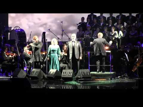 ANDREA BOCELLI - Con Te Partiro.21/02/13. Moscow. Kremlin Palace.  LIVE