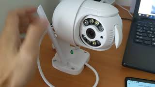 Настройка и подключение уличной WiFi камеры приложение ICSee от SMART XATA