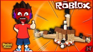 ROBLOX indonesia #181 Pocket Pirates | Review Of COOL KUTILFANS The Artificial Vessels