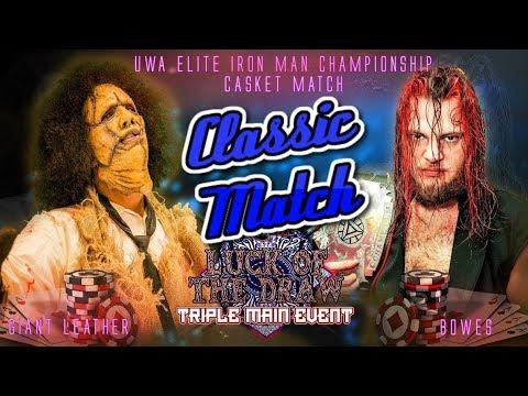 Classic Match: Bowes Vs. Giant Leather (Casket Match)