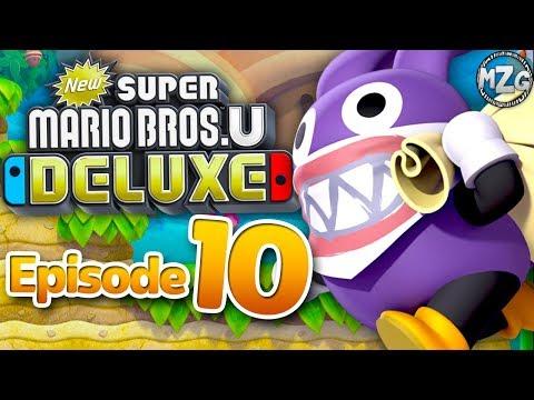 New Super Mario Bros. U Deluxe Gameplay Walkthrough - Episode 10 - Bonus! Nabbit Chases! |