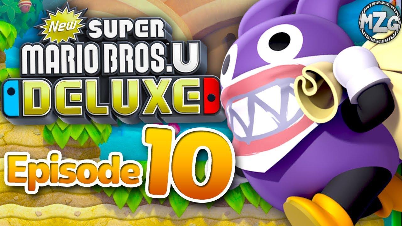New Super Mario Bros U Deluxe Gameplay Walkthrough Episode 10