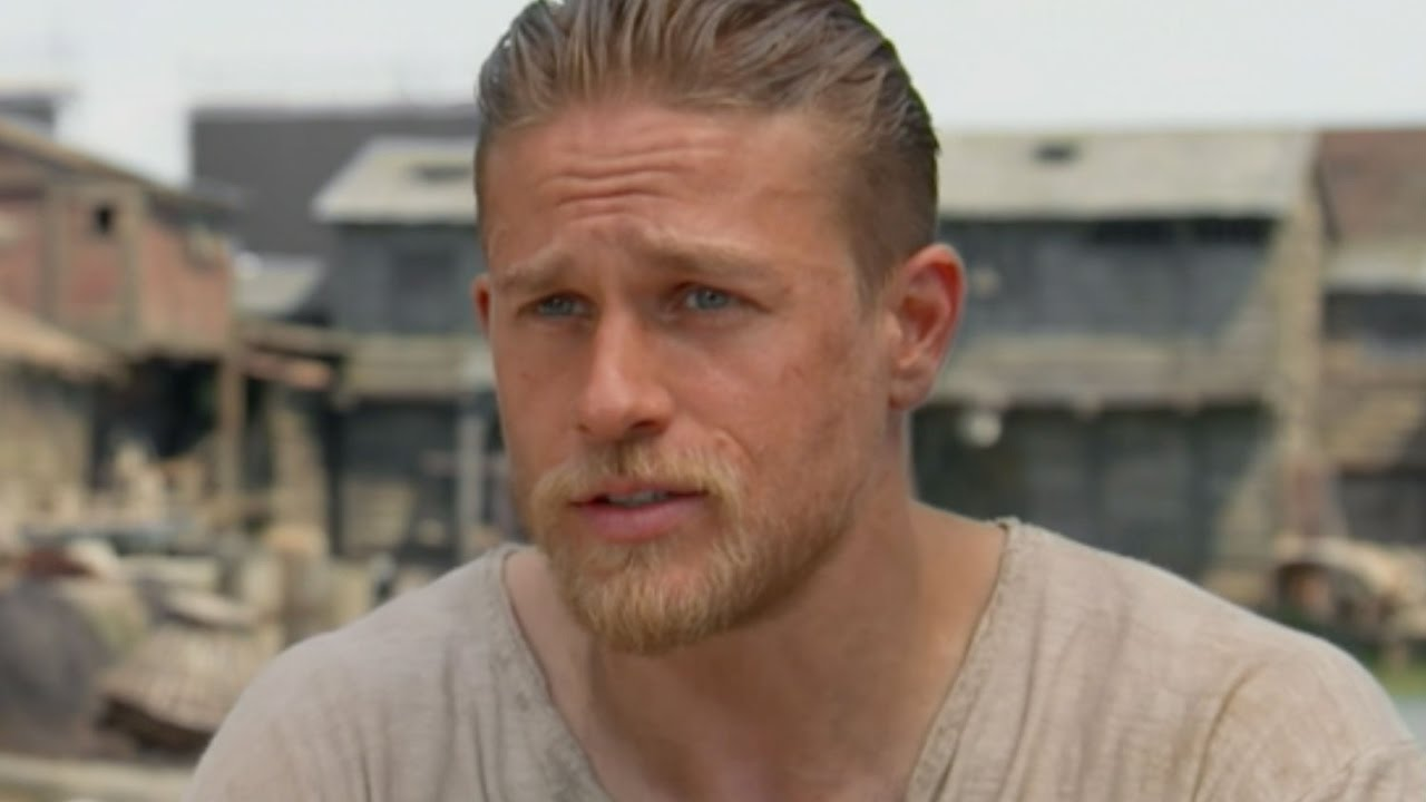 charlie hunnam - king arthur: legend of the sword