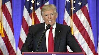 Trump talks border security, Supreme Court nomination
