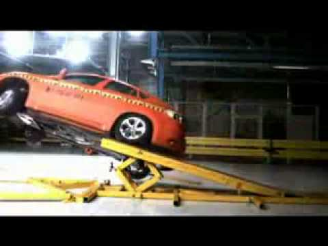Bmw X6 2009 Crash Test Youtube