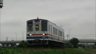 関東鉄道常総線 2017/08/11 常総きぬ川大花火の増結(下館口)