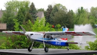 Multiplex Pilatus PC-6 Turbo Porter RR Review - Part 1, Intro and Flight