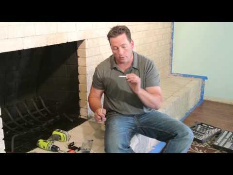 How to Install A Masonry Firelace Door - Brick-Anew