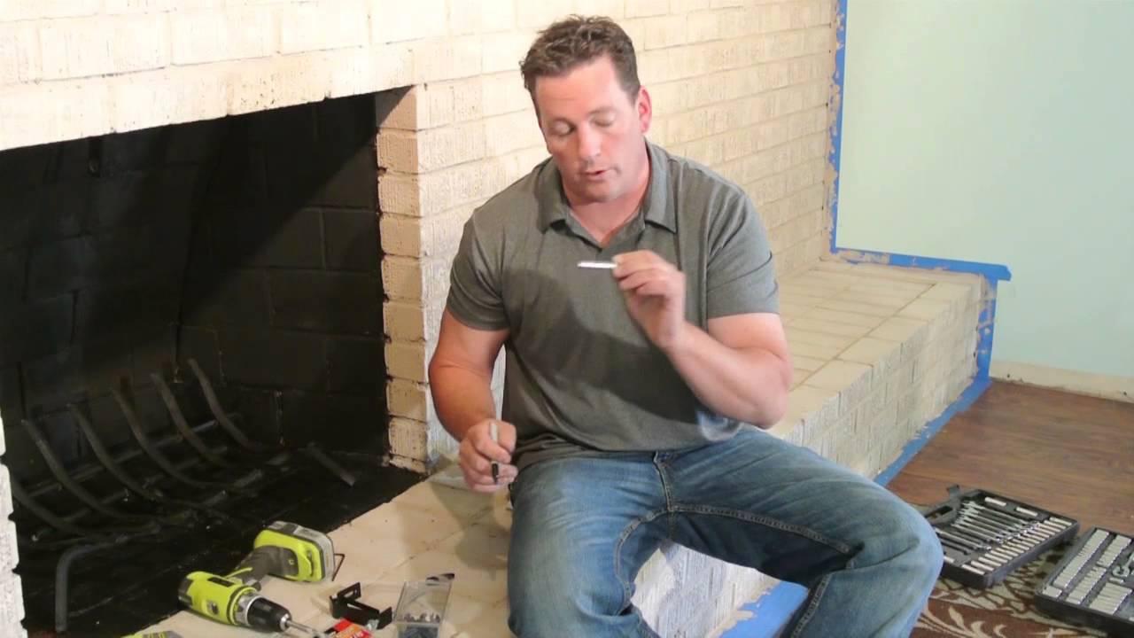 how to install a masonry firelace door brick anew youtube